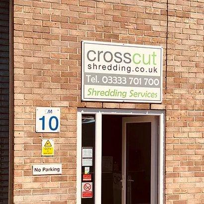 Crosscut Shredding Office