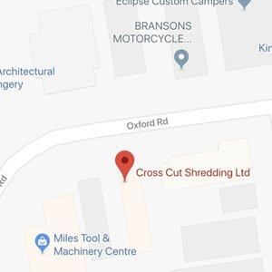 Crosscut Shredding Location